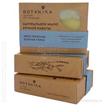 Мята перечная и зеленая глина мыло 100 Botavikos Botanika в официальном интернет-магазине ФОРМУЛА МЁДА 309-013-13 01